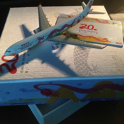 "1/500 Herpa / Lysia Dragonair A330-300 ""20 Years of the Dragon"""