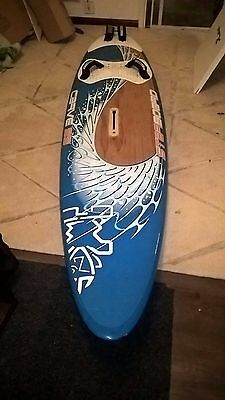 Starboard Carve 99 from 2007 windsurfing board. wood