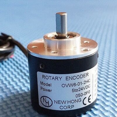 NEW Incremental Optical Rotay Encoder 1000P/R AB phase encoder 6mm Shaft  5-24V