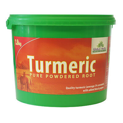 Equine Turmeric (1.8kg) - Global Herbs - Helps Maintain Joint Comfort