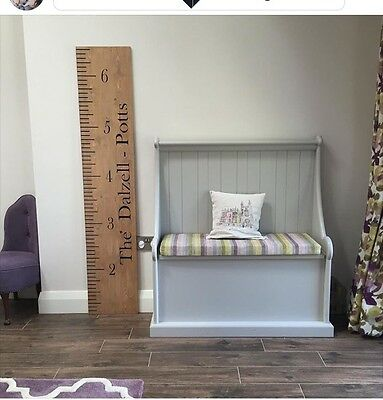 Personalised Luxury Wooden Height Chart