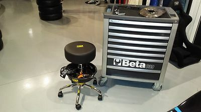 OMP Racing Mechanic Race Team Pit Stool For Garage / Pits / Motorhome