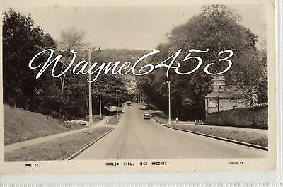Marlow Hill, High Wycombe.  1960.   RPPC.