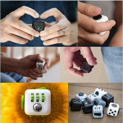 2017 New Magic Fidget Cube Puzzle Cube Anti-anxiety Stress Relief For Adults