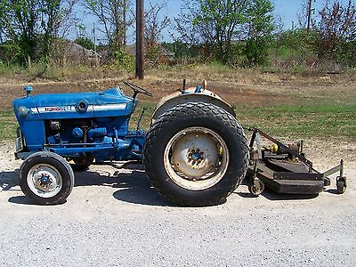 1969 Ford 2000 Tractor with Nortrac 6 ft. Finish Mower