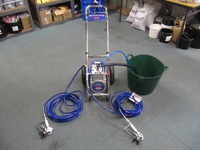 Airless Paint Sprayer DF330 Including 2 Hoses and 2 Airless Spray Guns