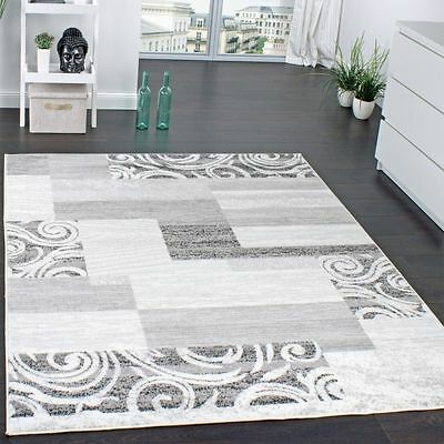 New Traditional Rug Shabby Chic Carpet Grey Short Pile Small Extra Large Rugs