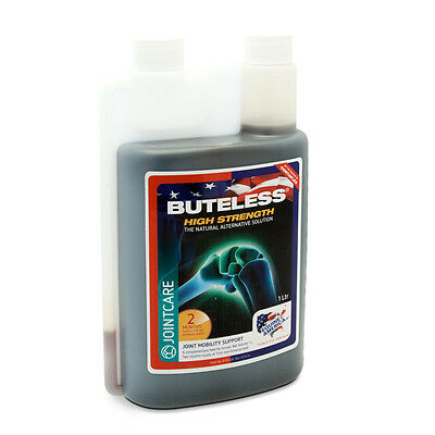 Buteless High Strength Liquid  (1 litre) - 2 Months Supply - Equine America