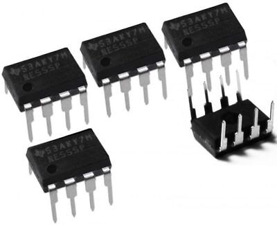 5 x NE555P DIP8 Single Bipolar Timer IC NE 555 Chip