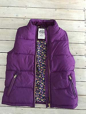 Mini Boden Gilet Bodywarmer Size 9-10 Years Hardly Worn Excellent Condition