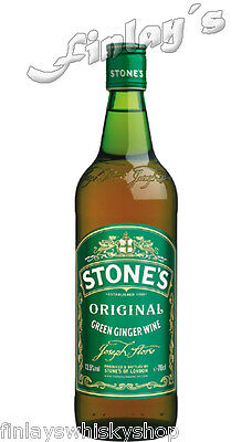 (15,36€/L) Stones Green Ginger Wine Ingwer Wein 0,7 L