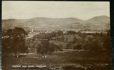 Vintage Postcard - RUTHIN AND MOEL FAMMAU - Early 1900's.