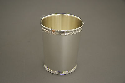 Sterling Silver Mint Julep Cup Banded Design
