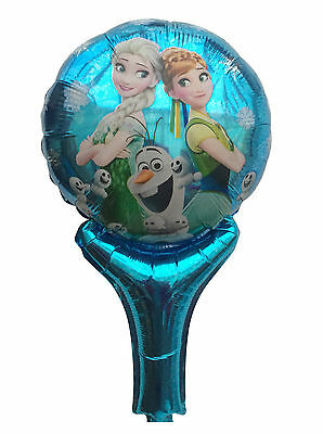 Lot Frozen Inflatable Air Hand Balloons Birthday Party Decorations Supply UK