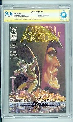 Green Arrow #1 (1988)  CBCS 9.6 Signature Series (Mike Grell)