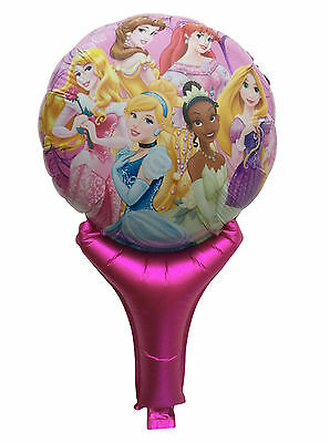 Lot Princess Inflatable Air Hand Balloons Birthday Party Decorations Supply UK