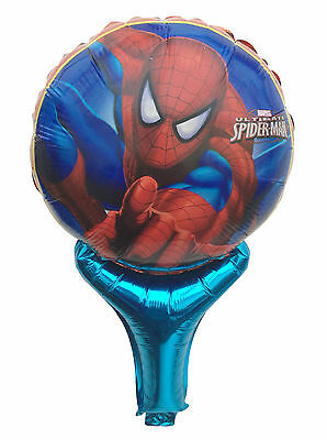 Lot Spiderman Inflatable Air Hand Balloons Birthday Party Decorations Supply UK