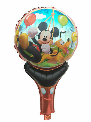 Lot Mickey Mouse Inflatable Air Hand Balloons Birthday Party Decorations Supply