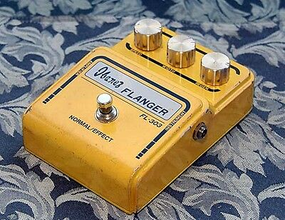 Ibanez Fl-303 Flanger Vintage Guitar Effect Pedal Japan Very Rare Great !!!!!!