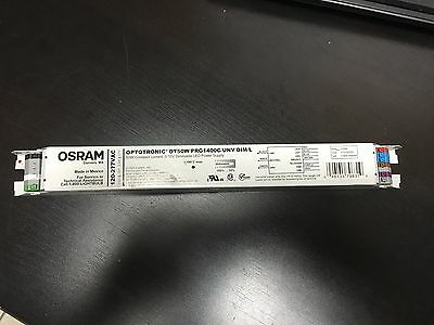 Osram Optotronic 50W Constant Dimmable LED Power Supply  OT50WPRG1400C/UNV/DIM/L