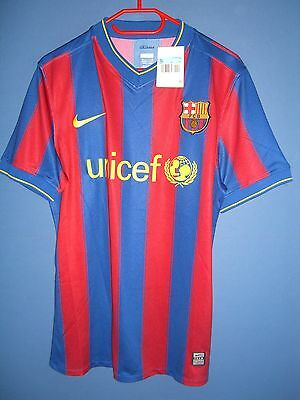 FC Barcelona player match issue plain shirt size M
