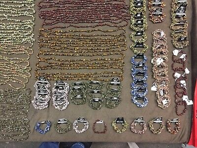 Wholesale Rock Jewelry Necklaces Bracelets Lot Of 100 Plus