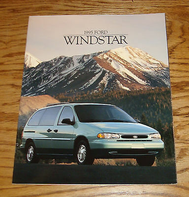 Original 1995 Ford Windstar Sales Brochure 95 8/94 GL LX