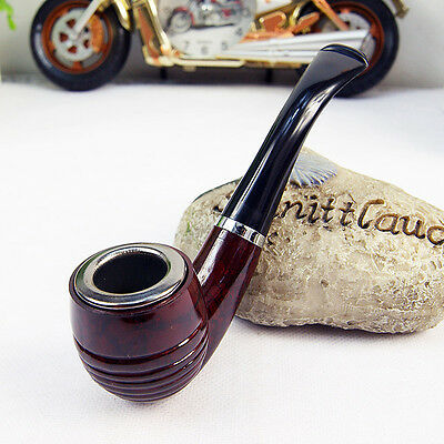 New 1Pcs Gift Enchase Smoking Durable Pipe Tobacco Cigarettes Cigar Pipes XY1234