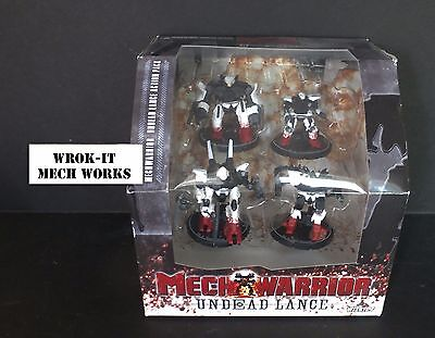 Mechwarrior - Undead Lance Action Pack - NIB - RARE!