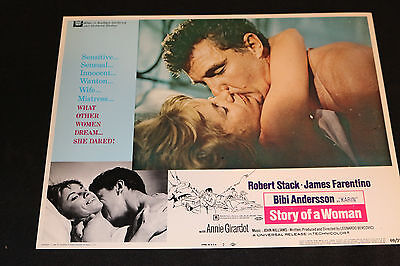 1969 Story of a Woman Lobby Card 69/372 #7 James Farentino (C-6)