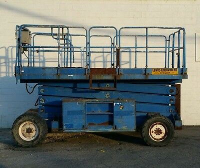 Upright 41-Foot All Terrain 4 Wheel Drive Scissor Lift