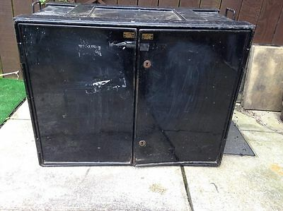 Vintage Industrial Steel Cabinet by Henry & Co