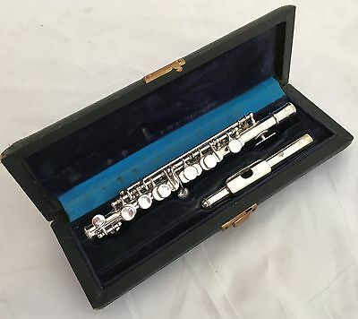 Antique Selmer Paris Depose No.3717 Silvered French Piccolo in C