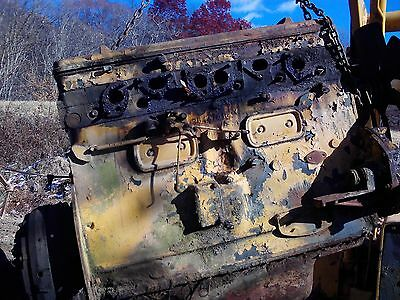 T-D 18 international harvester dozer-motor block
