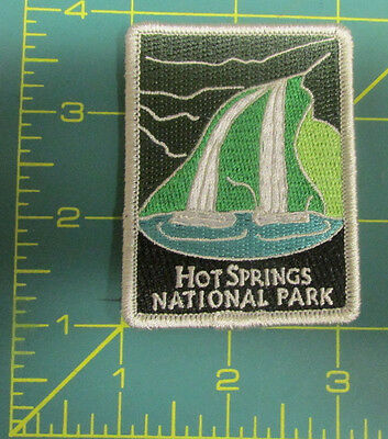 New Traveler Series Patch - Hot Springs National Park - Arkansas - Embroidered