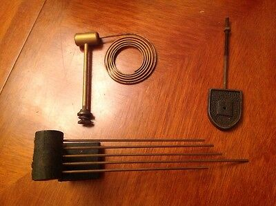 Vintage Chimes Gongs Parts #5 Five Chime Gong