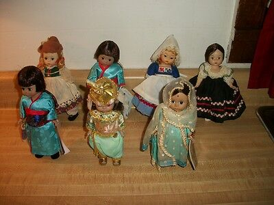 Vintage Lot Madame Alexander Friends From Foreign Lands Dolls