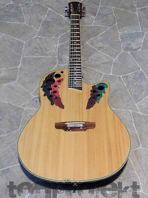 electric acoustic roundback 6string Western Guitar Guitar with EQ shallow bowl