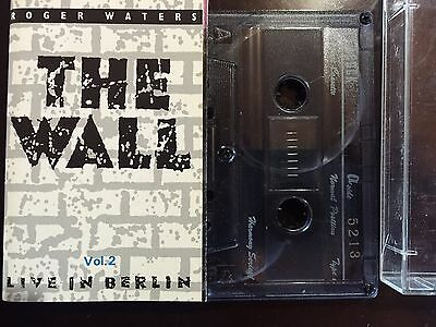 PINK FLOYD - -  THE WALL Live in Berlin (vol 2) - -   CASSETTE TAPE