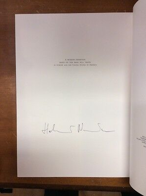 Signed First Edition Helmut Newton World Without Men Photography Book 1984