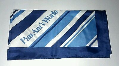 Vintage Pan Am Airlines Neck Scarf