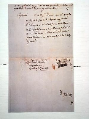 The Virginia Resolves rebut the Stamp Act of 1975 1776 reproduction