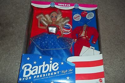 1992 Barbie for President Limited Edition - Recalled Box