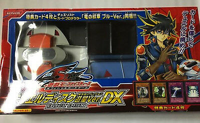 Boxed Yu-Gi-Oh Duel Disk Launcher Yusei Version DX EMS Free tracking ship