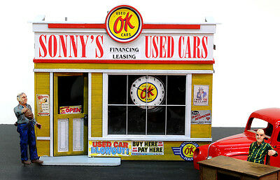F/G scale  BANTA MODEL WORKS #8122 Sonny's Used Cars