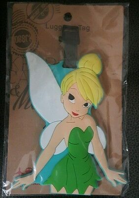 Tinkerbell  Luggage Tag...  !! U.s. Seller !!  Free Shipping