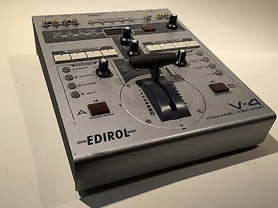 Edirol Roland V-4 4 Channel Video Mixer Switcher - TESTED WORKING