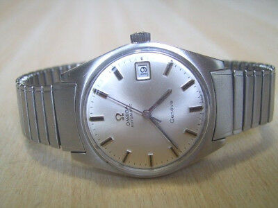Vintage Ss 60's Omega Geneve Automatic Cal 565 + Rare Ss Bracelet          *6297
