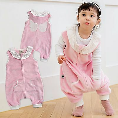 "Vaenait Baby Kids Girls TOG2 Super Soft Blanket Sleepsack ""Mf.Pink Angel"" 1T-7T"