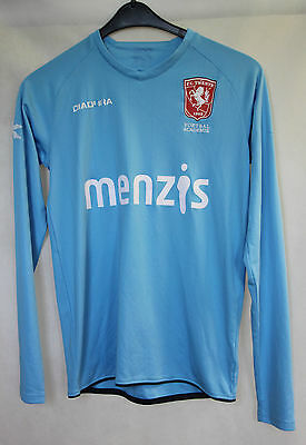 DIADORA F.C.TWENTE HOLLAND FOOTBALL AWAY JERSEY LONG SLEEVE #18 Gr S Klein (026)